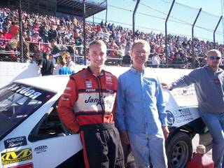 Jason and Me at Salem with his car