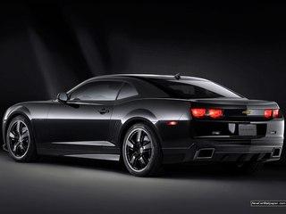 2010 Chevy Camaro Black Pic 2