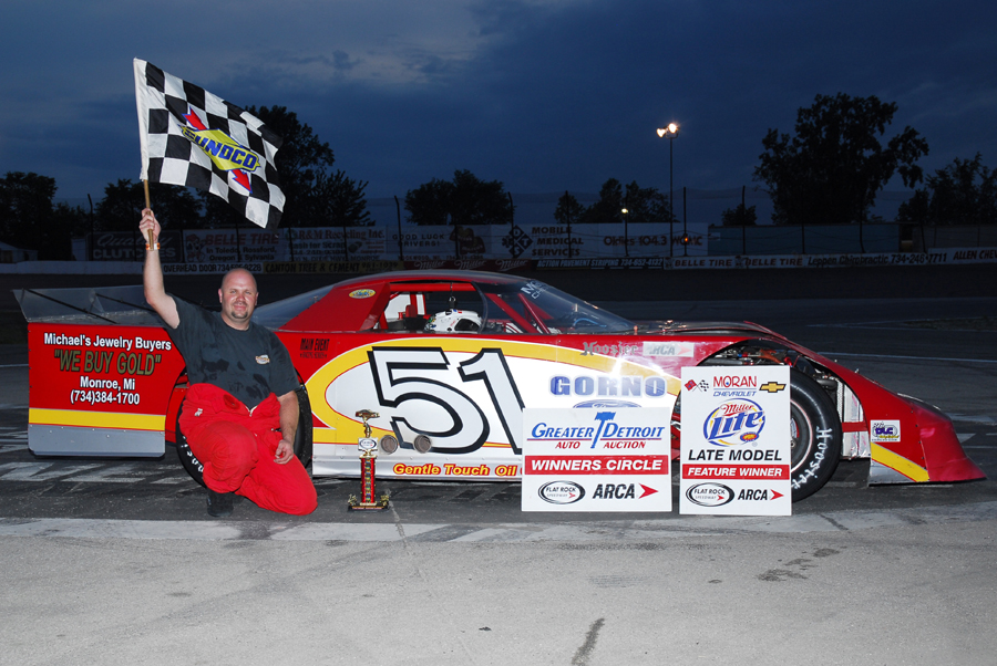 Benson Grabs First-Ever Win at Flat Rock - ARCA Racing