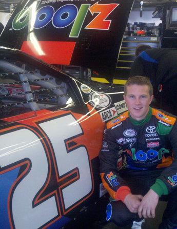 "Justin Boston Prepared for ""Special Moment"" in ARCA's 50th Anniversary Lucas Oil 200 at Daytona"