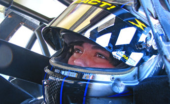 Cunningham Mtrsprts intros 15-year-old Anderson Bowen, one of several rookie testers at Mobile