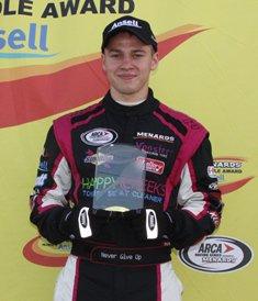 Mitchell captures pole at Berlin Raceway