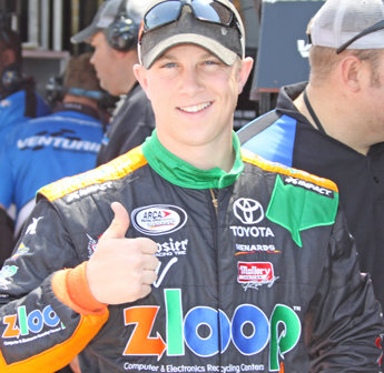 Rookie Boston says thumbs-up for dirt debut on Springfield mile dirt; Allen Crowe 100 Sunday