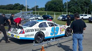 Sauter tops first practice charts at Madison