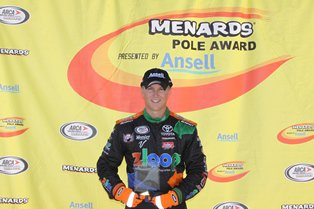 Boston wins Menards pole award at Salem - again