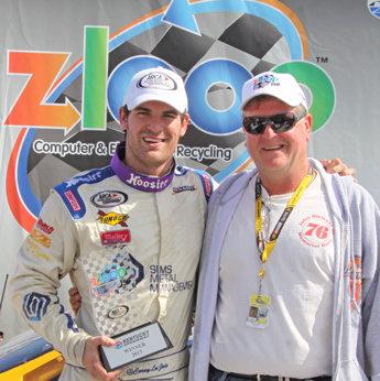 LaJoie wins ZLOOP 150 at Kentucky Speedway