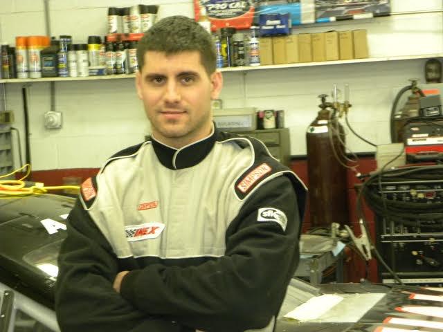 Hubler testing with Bobby Gerhart in Daytona
