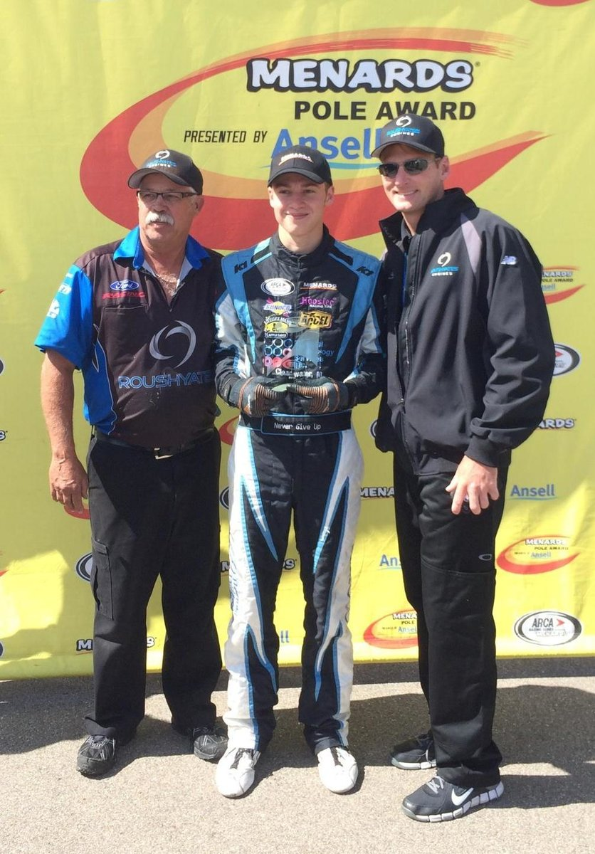 Mitchell wins fourth pole; Will start up front for today's Corrigan Oil 200 on Fox Sports 1