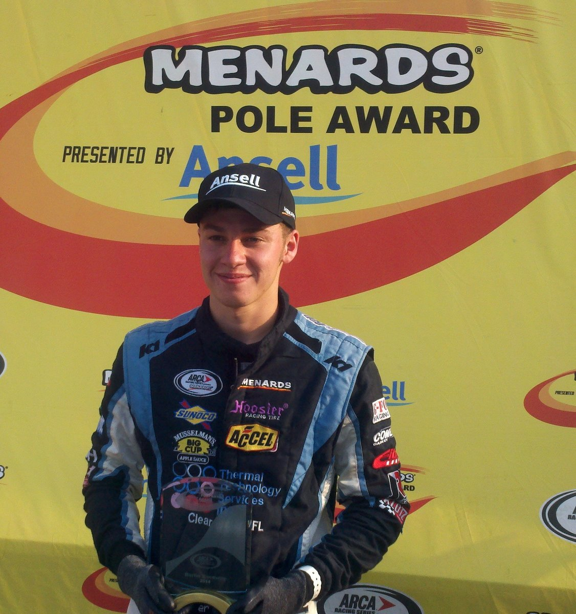 Mitchell wins Menards Pole Award at Berlin Raceway for second consecutive year