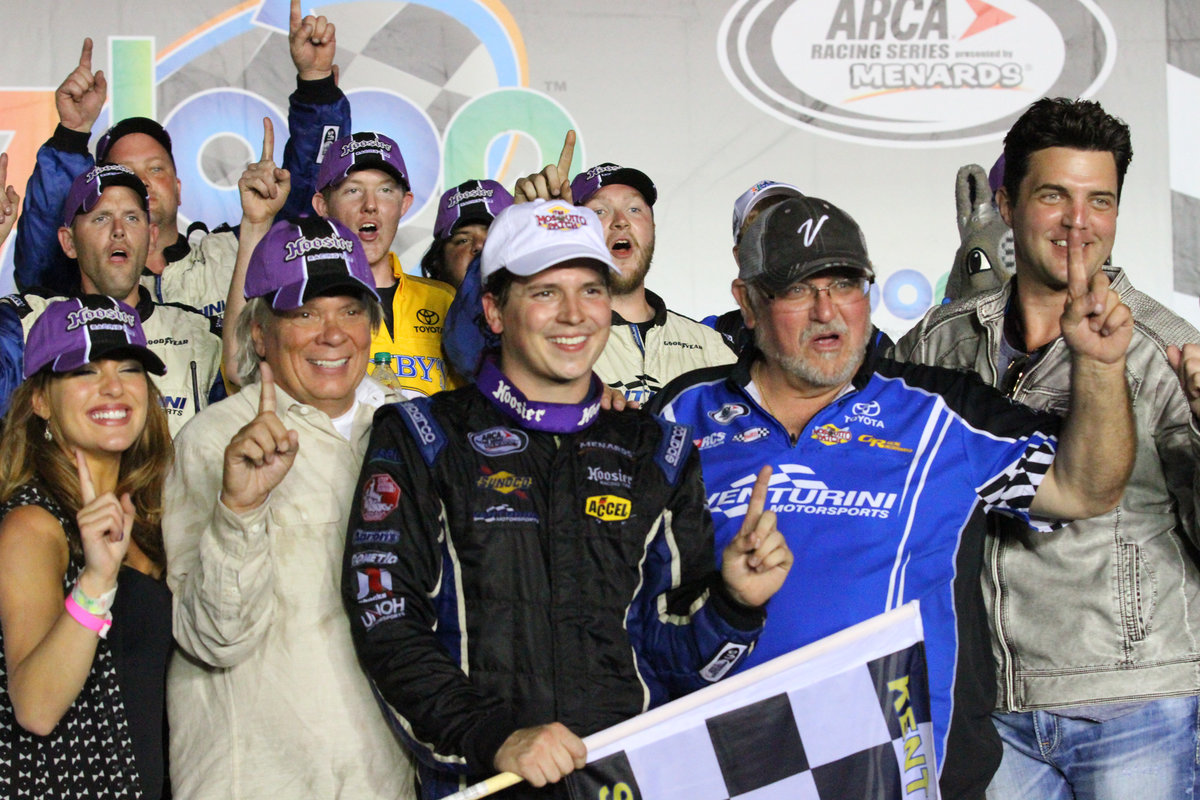 Poole takes Zaxby\'s Toyota to victory lane in Kentucky - ARCA Racing