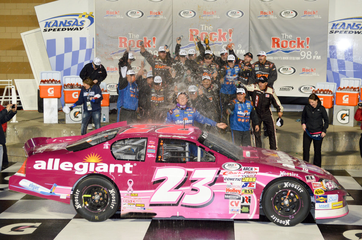 Gallagher\'s victory lane trip one to remember - ARCA Racing