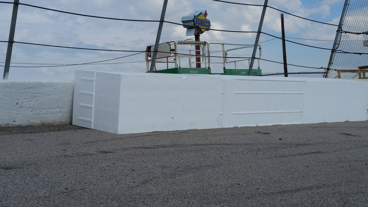 More foam barriers added to Toledo Speedway