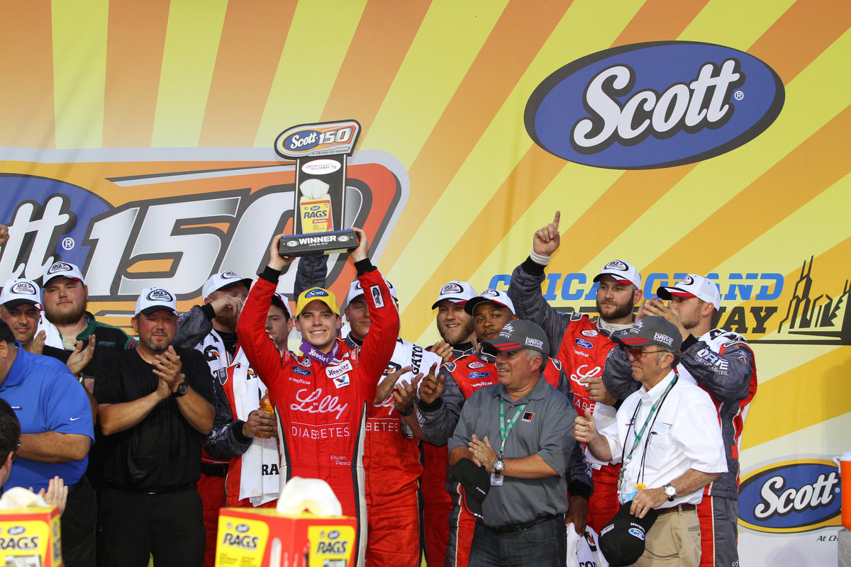Reed takes Lira Motorsports to victory lane at Chicagoland - ARCA ...
