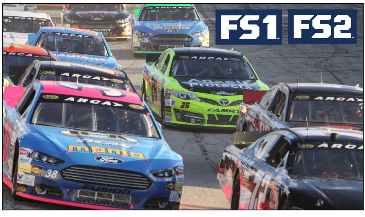 ARCA and FOX Sports announce 2016 broadcast schedule - ARCA