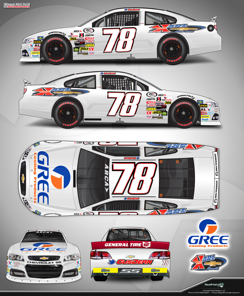 GREE adds LOR to \'16 schedule, Gus Dean to drive MMM 78 car - ARCA ...