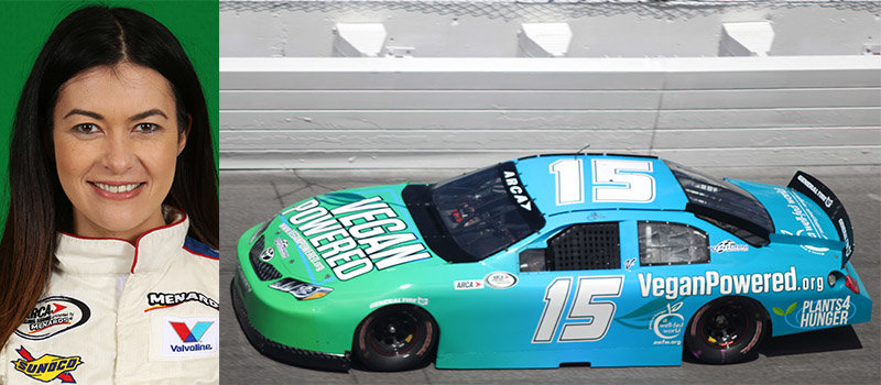 """A vegan """"hippie chick"""" and Venturini Motorsports...an unlikely pair?"""