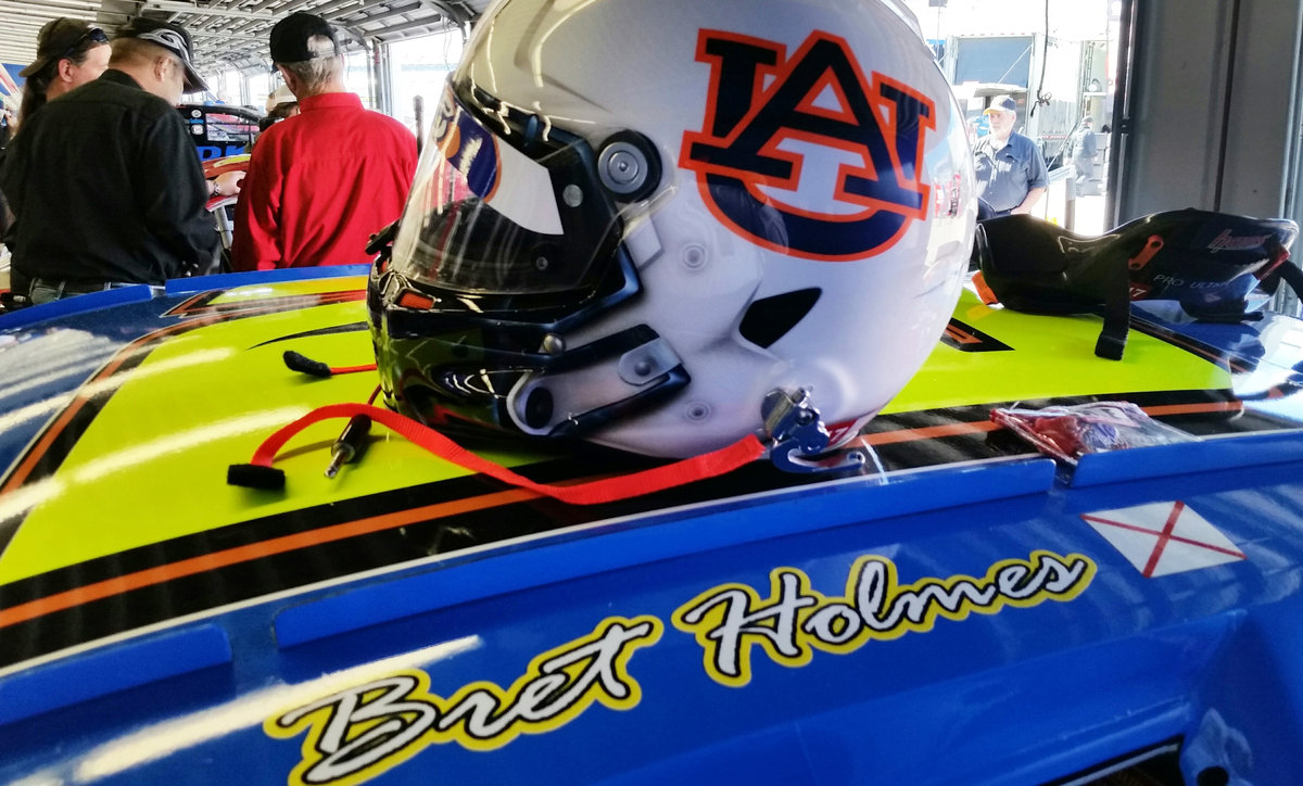 From dirt to Daytona, U of Auburn student Holmes ready for Daytona debut