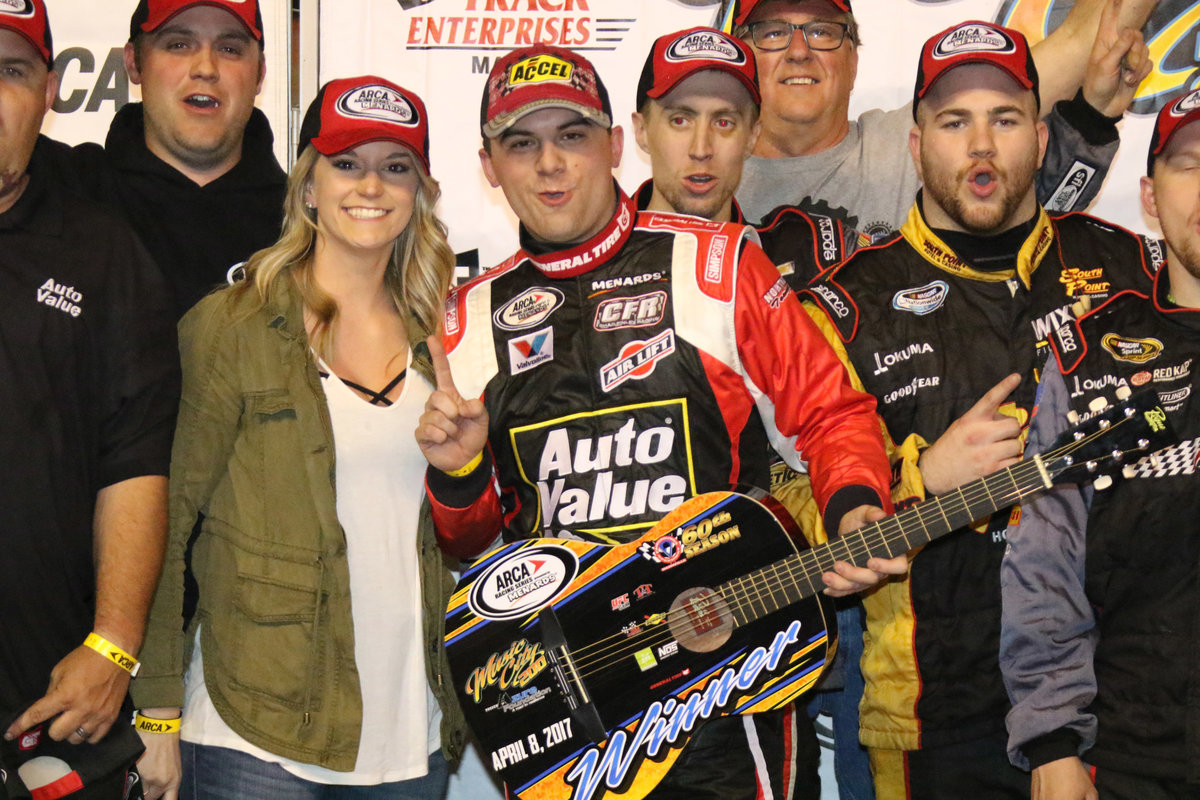 Career-first win for Chad Finley at Nashville