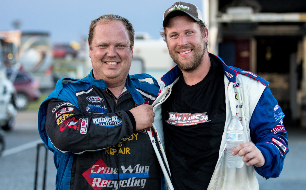 Mullins, Praytor collaborate as friends, competitors
