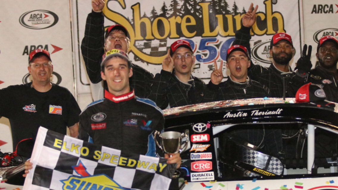Theriault edges Eckes in Elko thrill show; wins Shore Lunch 250
