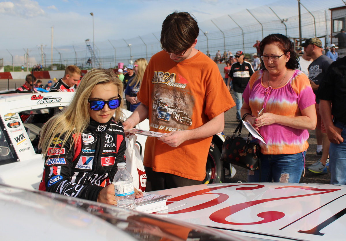 ARCA racer Natalie Decker featured in People Magazine; link to story inside