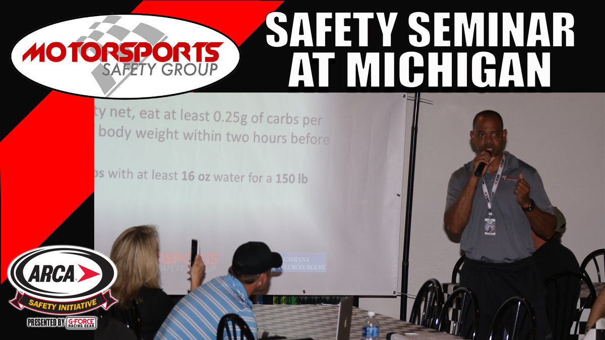 Motorsports Safety Group to host Seminar at Michigan