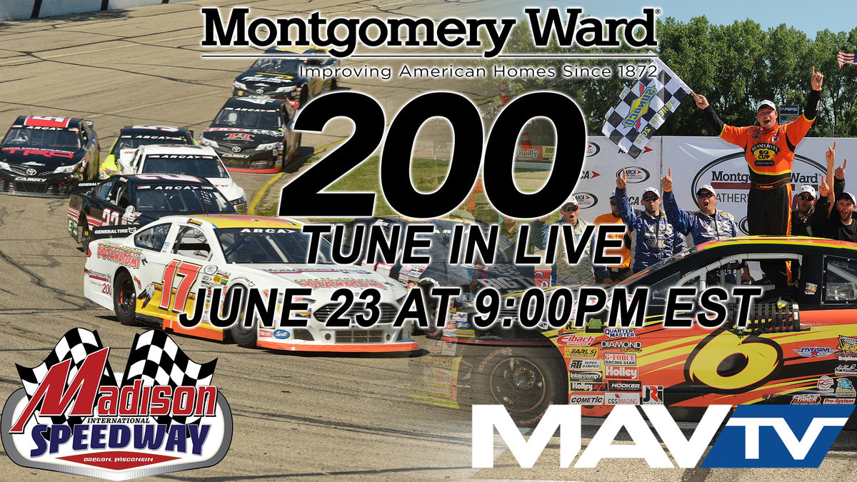 Madison short track live on MAVTV Friday night