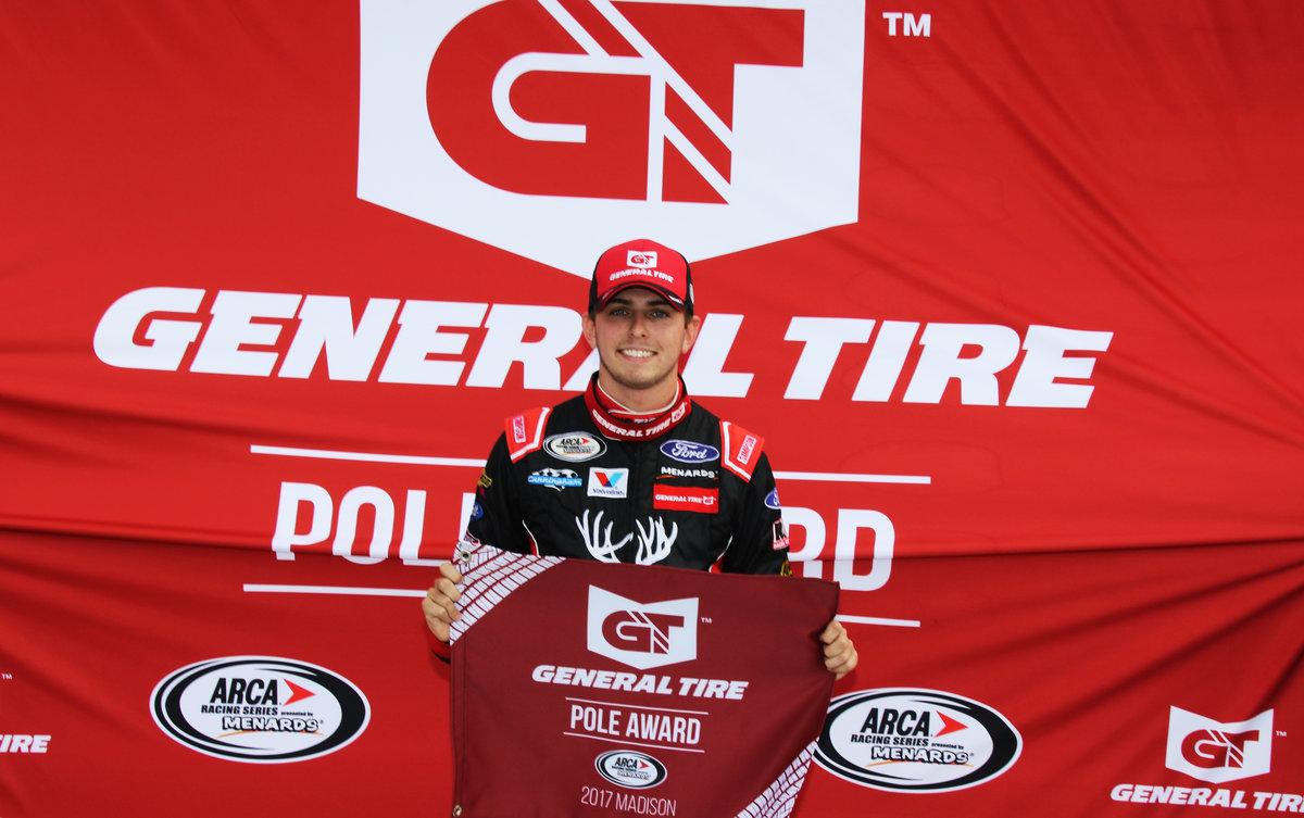Sargeant on pole at Madison