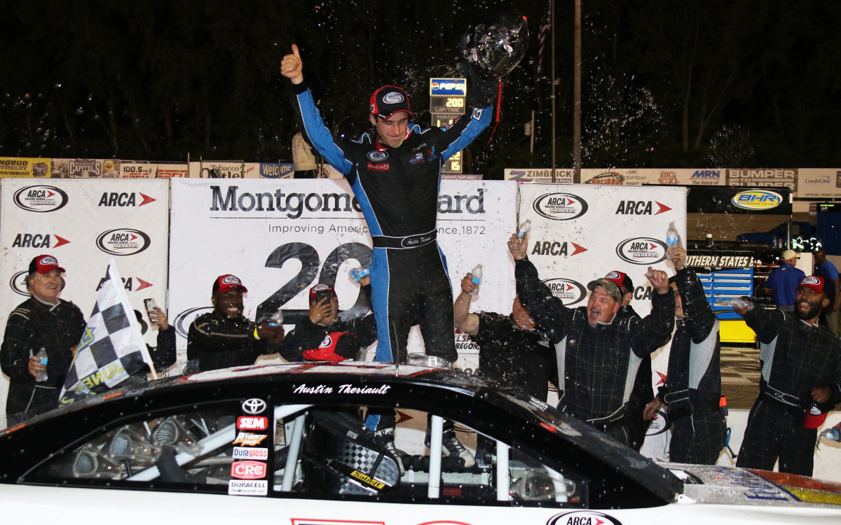 Theriault wins another short track thriller; conquers Madison
