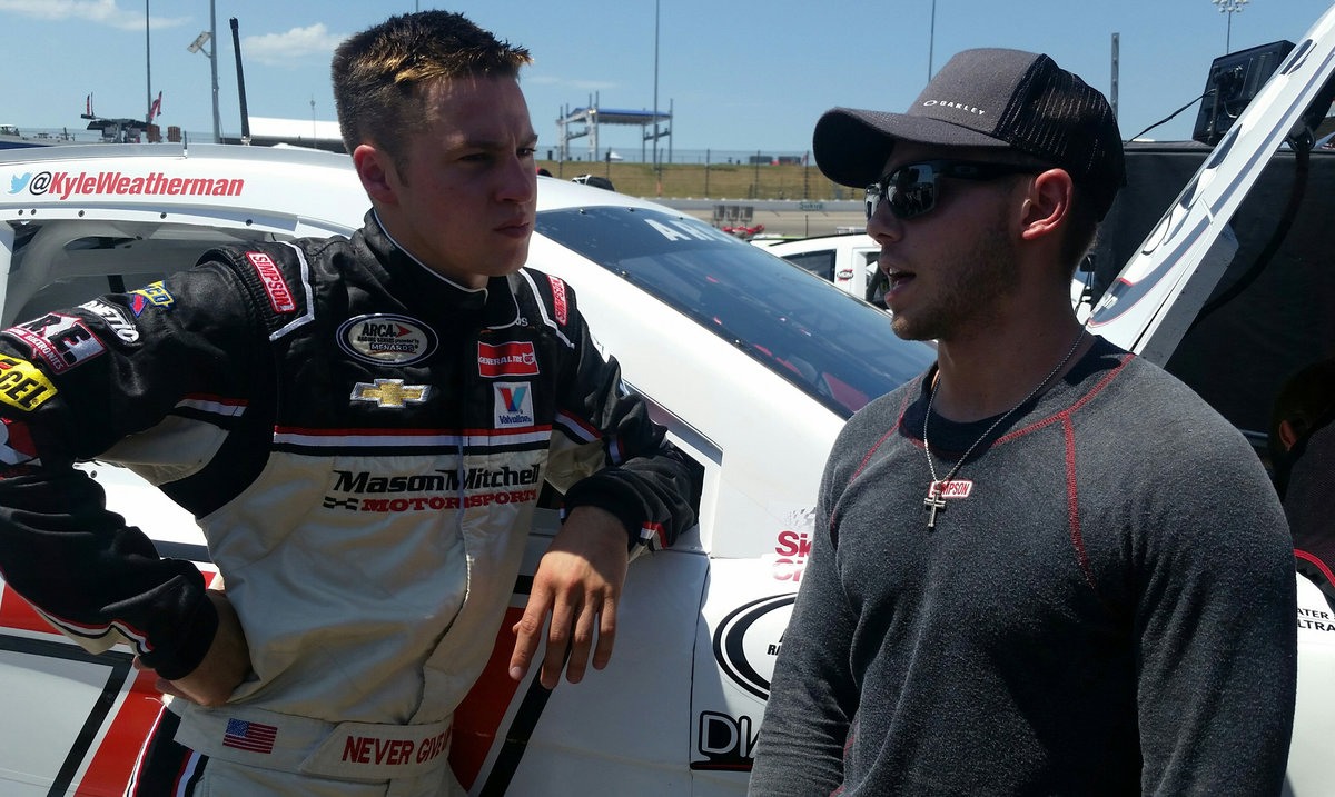 MMM's Kyle Weatherman fastest in practice at Iowa
