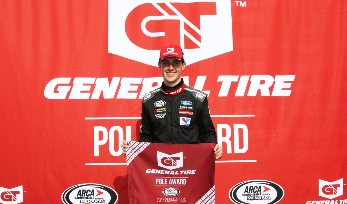 Cindric sets new track record at Lucas Oil Raceway