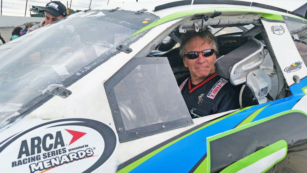 Local grassroots racer Steve Fox grateful to race at home; XG Industries to sponsor