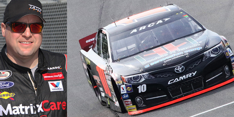 Fike in Hillenburg's 10 car at Winchester...the rest of the story
