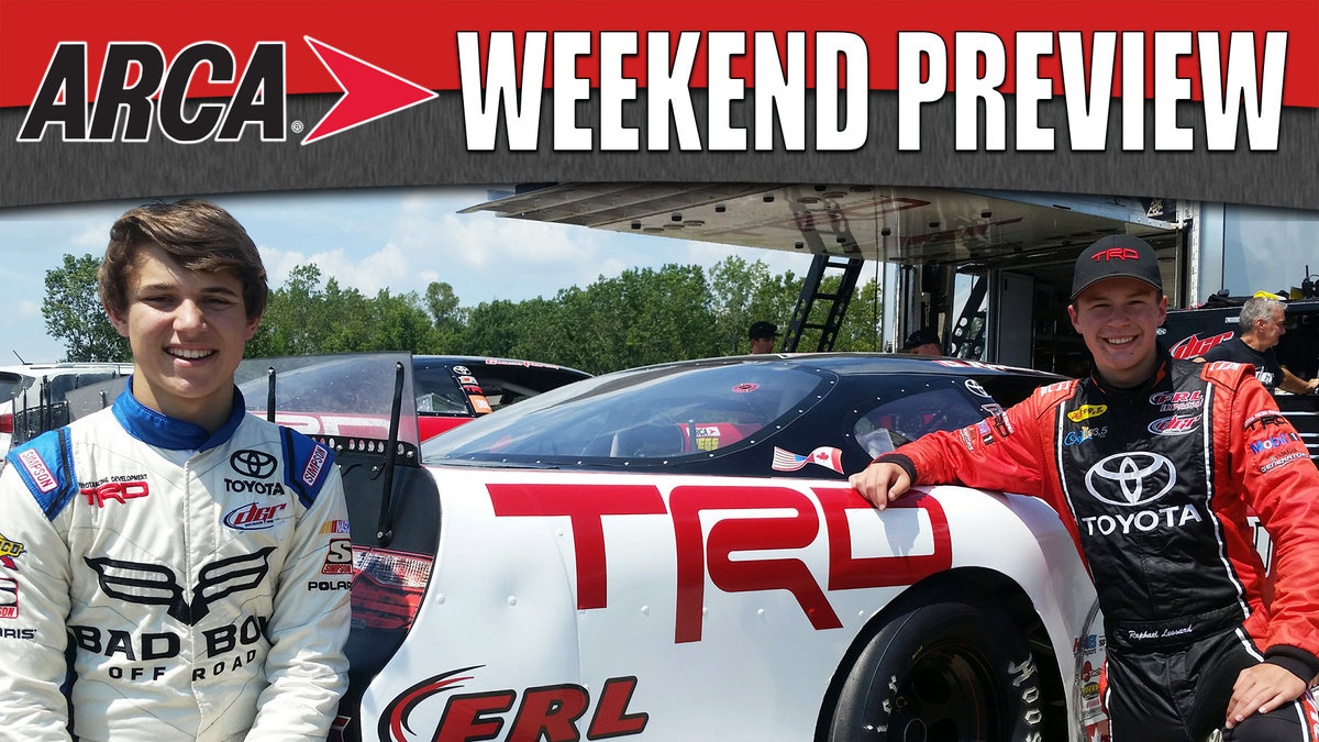 Purdy, Lessard test at Flat Rock for ARCA/CRA Level Pebble 200 Saturday