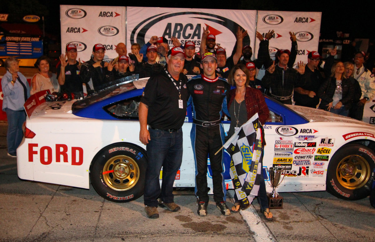 With a Throwback salute to the late Jack Bowsher, Theriault wins at Salem
