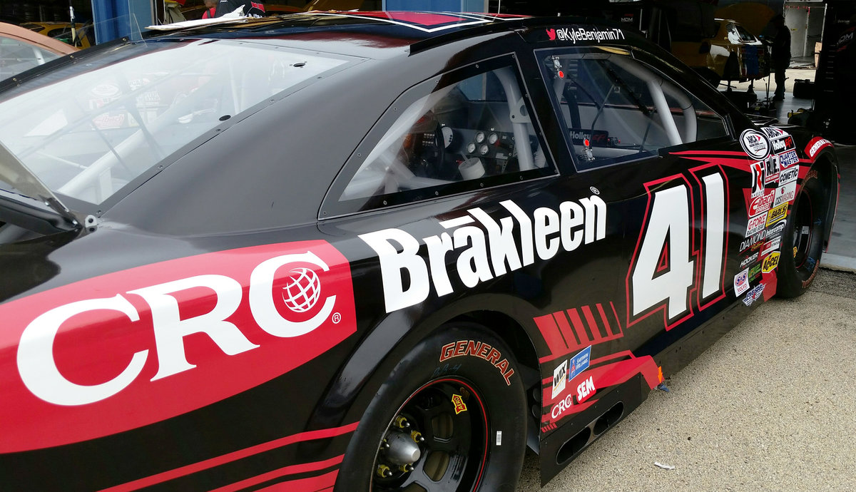 CRC Industries, Benjamin and MDM team up for Chicagoland - ARCA Racing