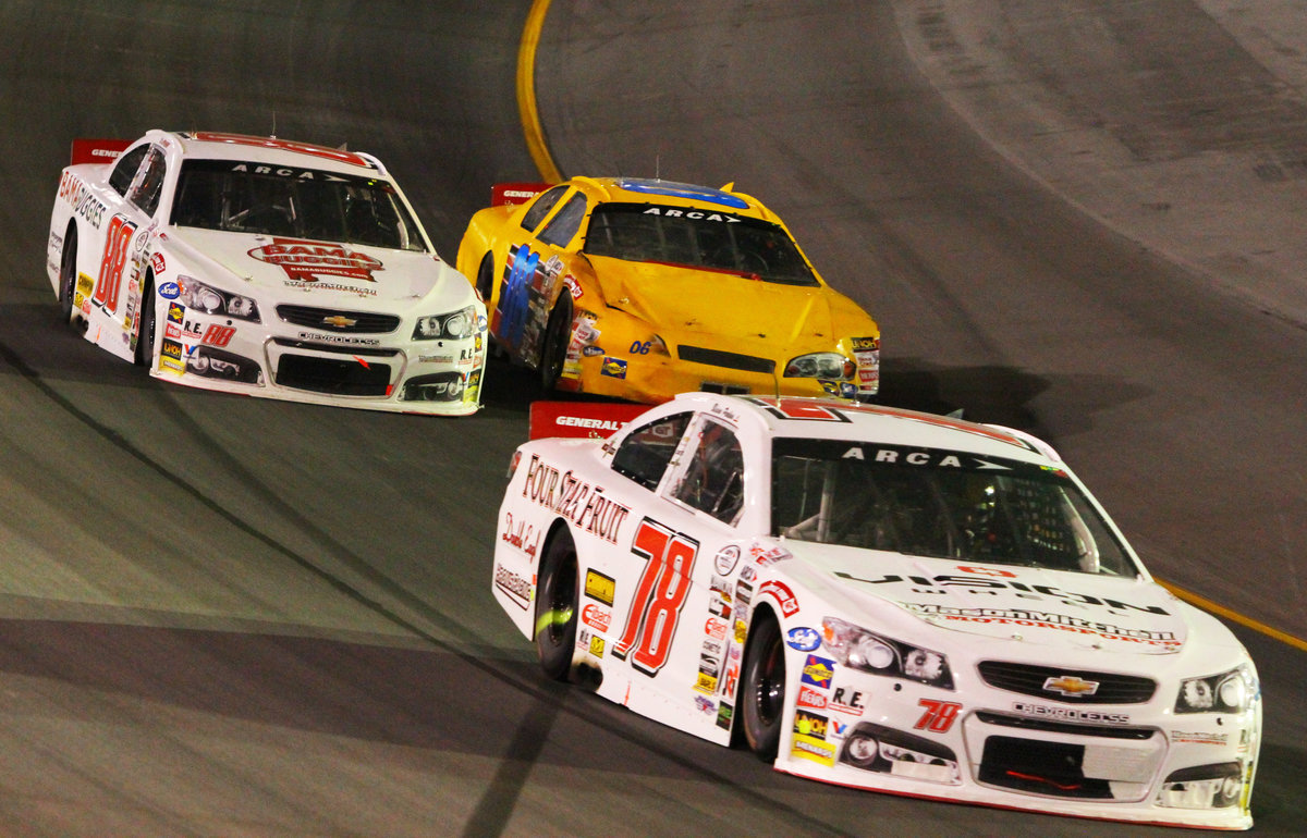 Perkins, Purdy perform for MMM at Kentucky - ARCA Racing