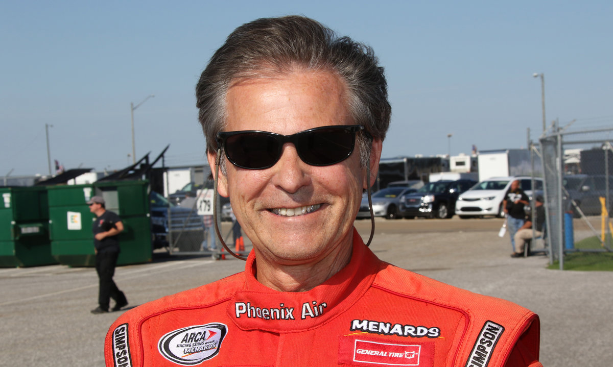 ARCA veteran, longtime ARCA racer Mark Thompson in Cup show at 'Dega