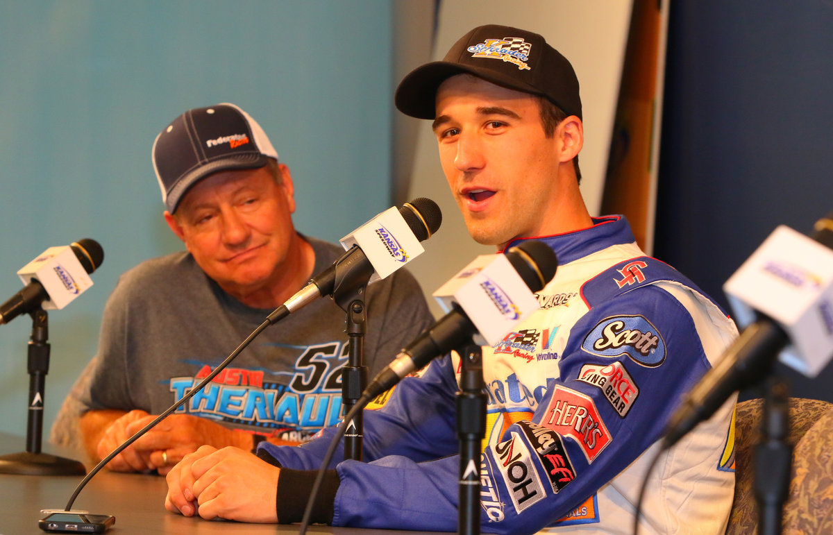 Congrats ARCA Nat'l Champs KSR, Theriault; sharing thoughts in Kansas Presser
