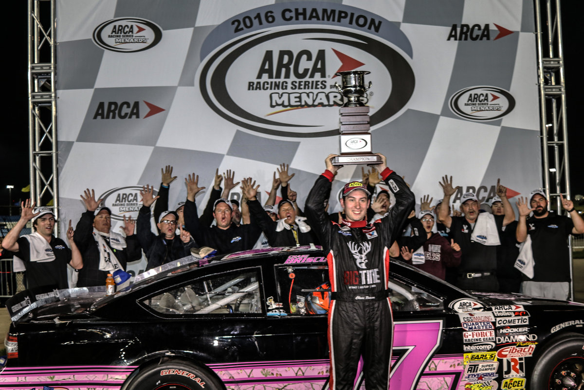 From a couch to a cockpit, ARCA champ Chase Briscoe a NASCAR winner