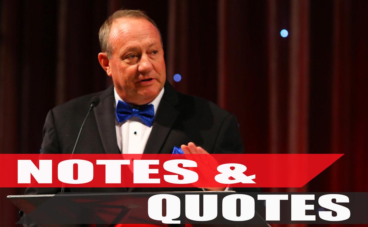 KSR, Cunningham, JGR make news during banquet festivities