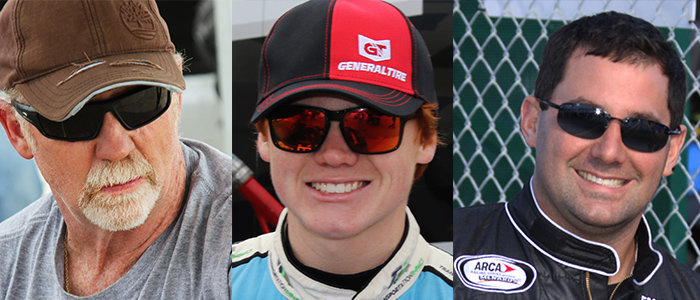 More test entries received for Daytona; Gerhart, Moffitt, Corr...latest list inside