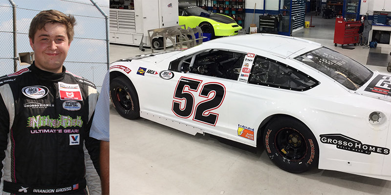 Rookie Brandon Grosso teams with KSR for full '18 season