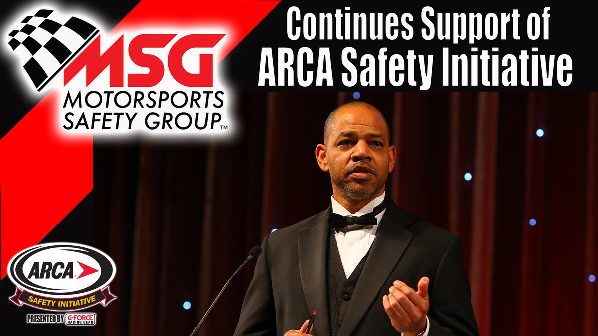 Motorsports Safety Group continues support of ARCA Safety Initiative