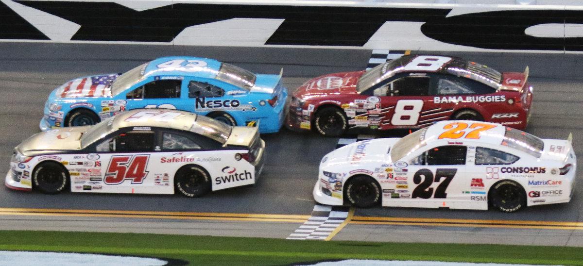 Braden experiences highs & lows of Daytona