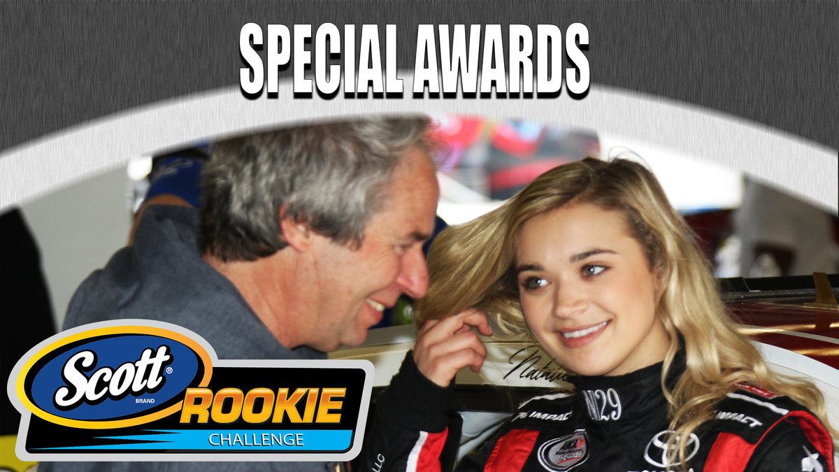 Decker earns SCOTT Rookie of the Race at Daytona...leads to Nashville