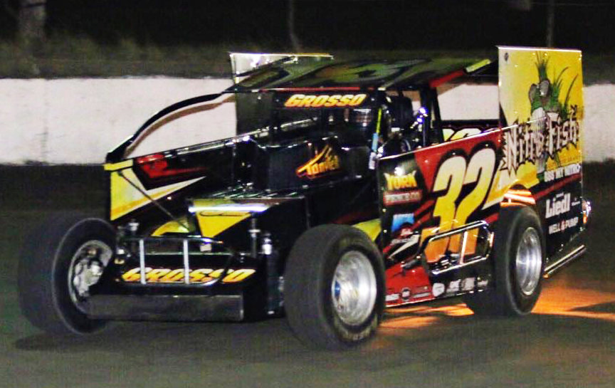 High school dirt modified ace Grosso preps for full pull ahead with KSR