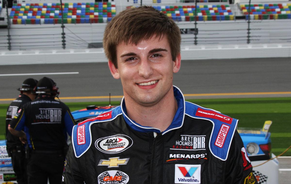 Auburn University junior Holmes mixing school and racing; files Nashville entry