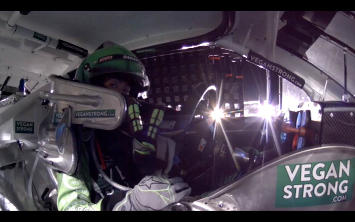 Video: On board with Leilani Munter at Daytona