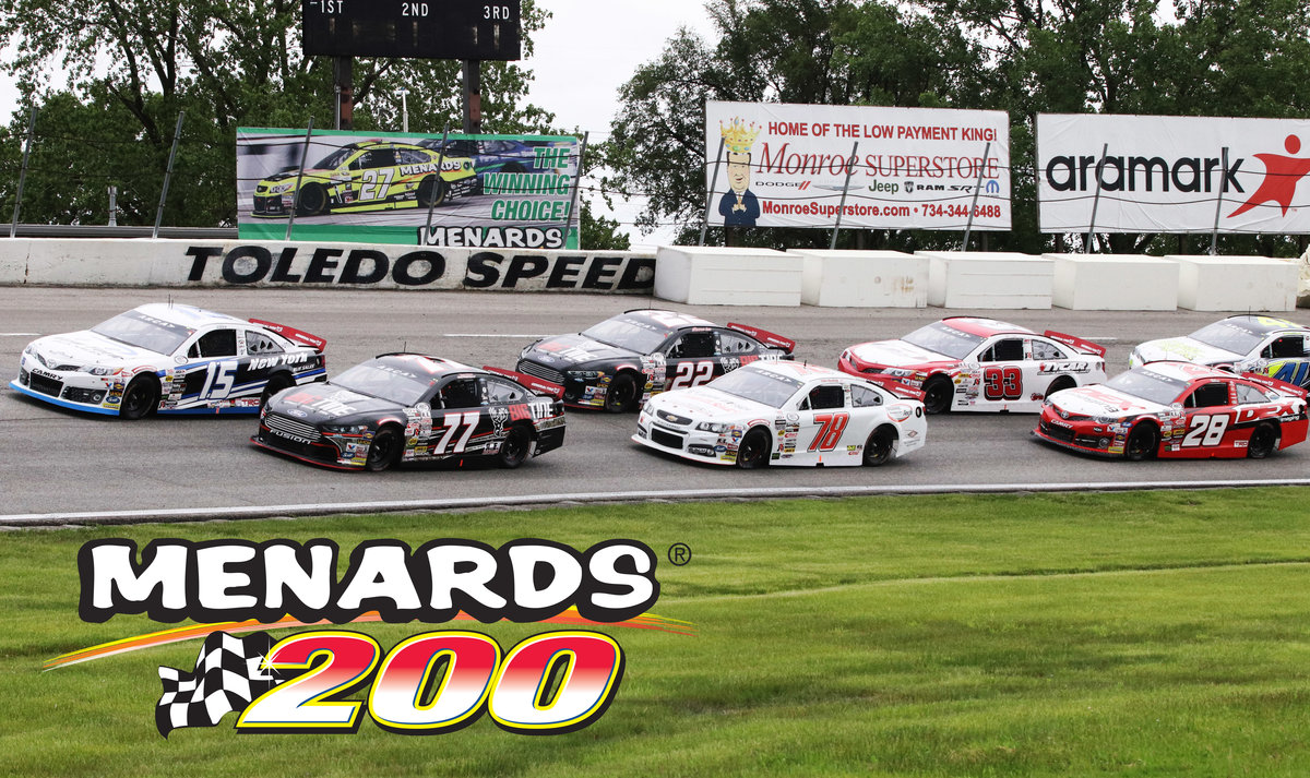 Menards to sponsor ARCA race at Toledo for 10th straight year